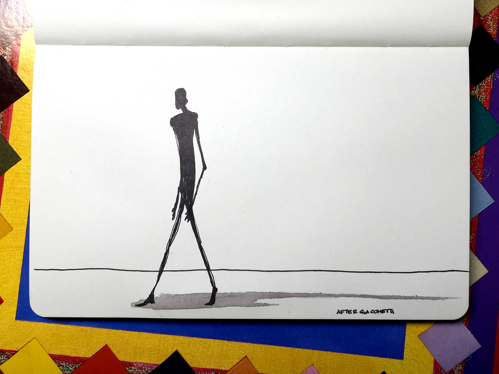 Tall Figure, Long Shadow